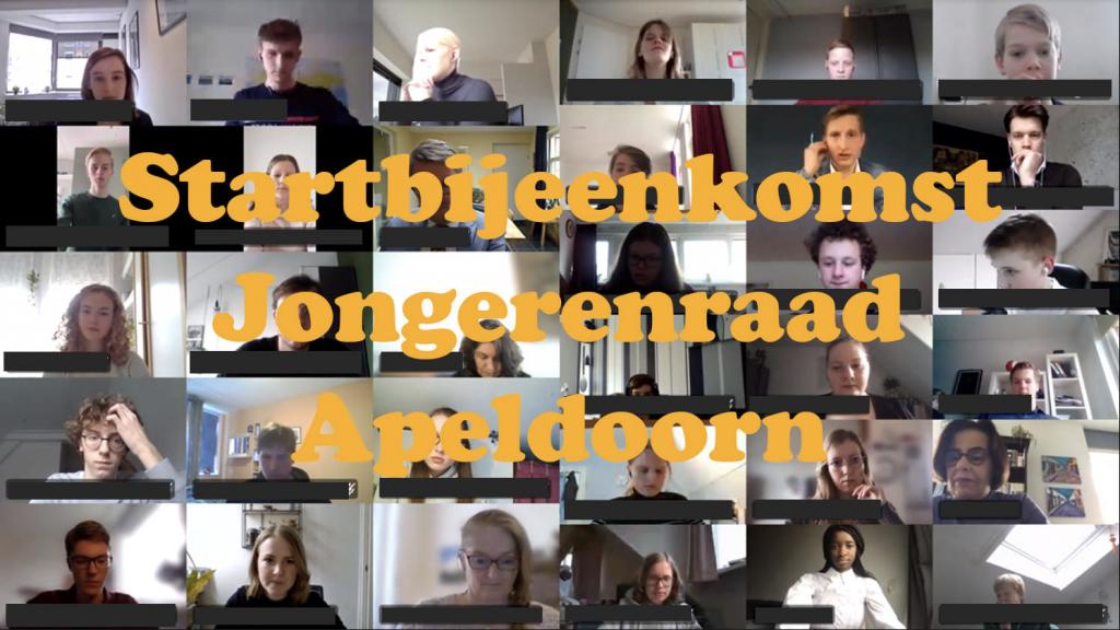 Startbijeenkomst Jongerenraad Apeldoorn
